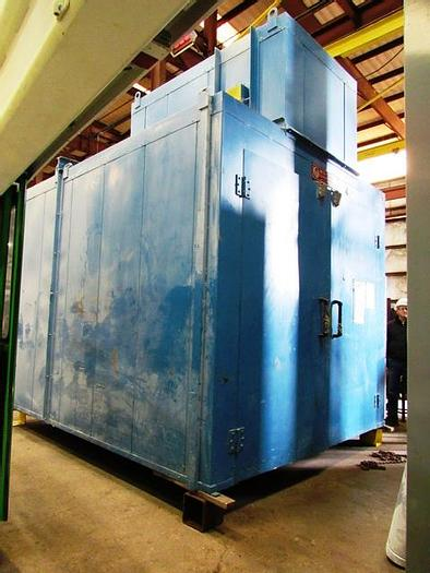 Used 2010 Wisconsin Batch Curing Oven SWH-8128-E