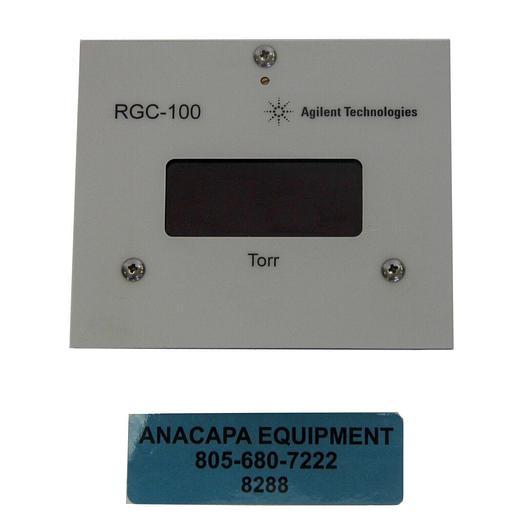 Used Agilent Technologies RGC-100 Digital Vacuum Gauge Controller (8288)W