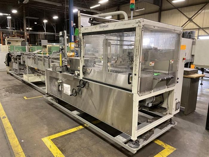 Used STORK TEXTWRAP MODEL T-E1407SS-240-02 WRAPPING LINE