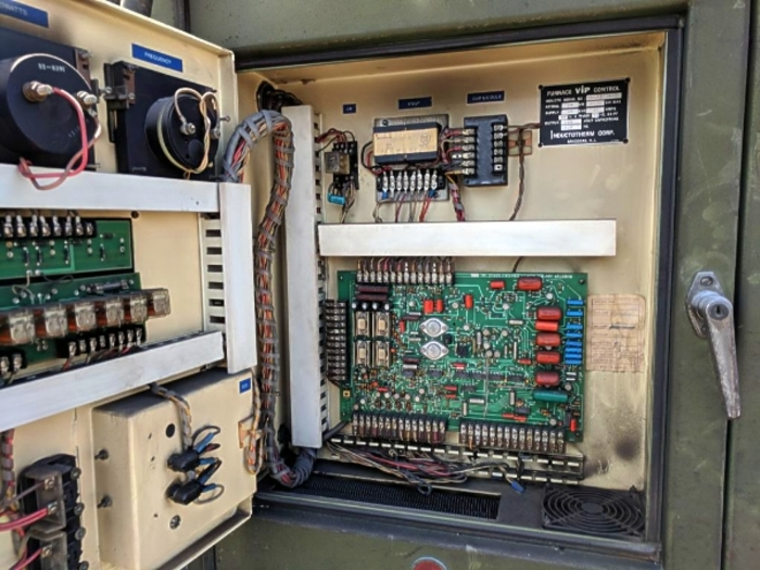 1986 INDUCTOTHERM VIP POWER TRAK 125-30