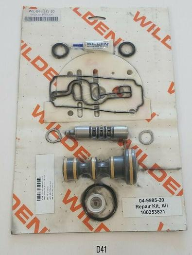 """*NEW IN PLASTIC SEAL* WILDEN WIL-04-9985-20 KIT, AIR, P/1.5""""-2""""/C/C/"""