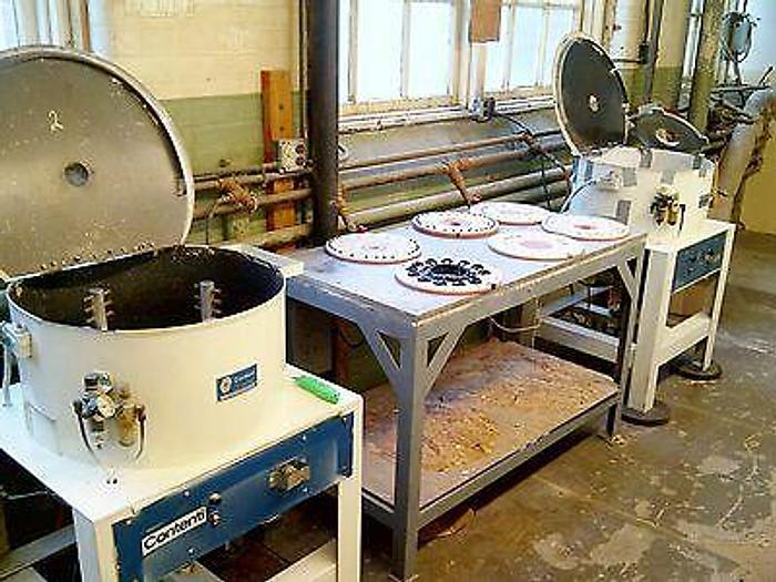 Used Plastic Casting System -automatic polish - molded parts-installed Watch Video!!