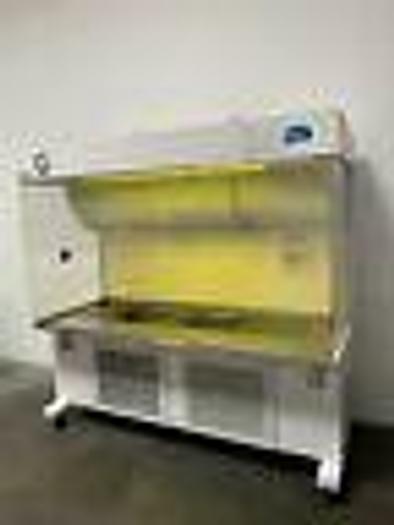 "Used Sterilaire Medical Inc Horizontal Laminar Flow Hood  28"" x 72"" x 36"" 120V"