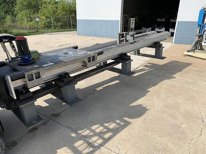 2001 FANUC RTU-1000 7TH AXIS ROBOT TRACK 500KG X 26' TRAVEL