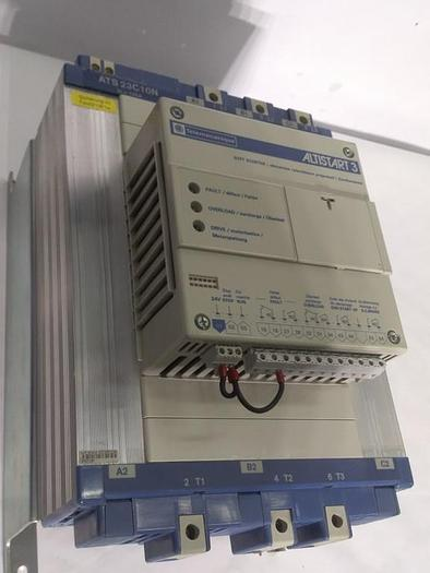 Gebraucht Sanftstarter Altistart 3, ATS23.C10N, Telemechanique, 400V 55KW