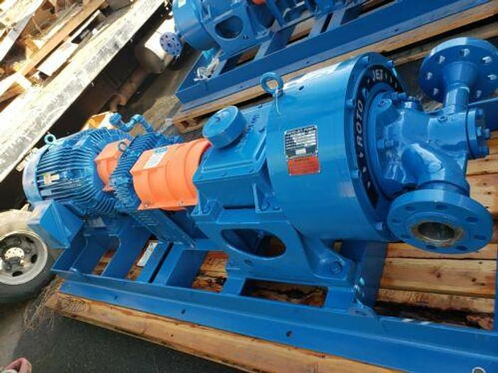 Used Unused Weir Specialty Pumps 100 HP Roto-Jet 3x2 ROHA III Pump Size S266