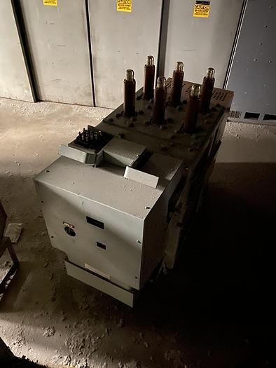 Used GENERAL ELECTRIC MAGNE-BLAST CIRCUIT BREAKERS
