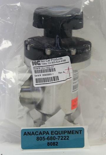 "Nor-Cal CSV-1502-CF 1-1/2"" Manual Copper Seal Angle Valve, 2.75"" OD NEW (8082)W"