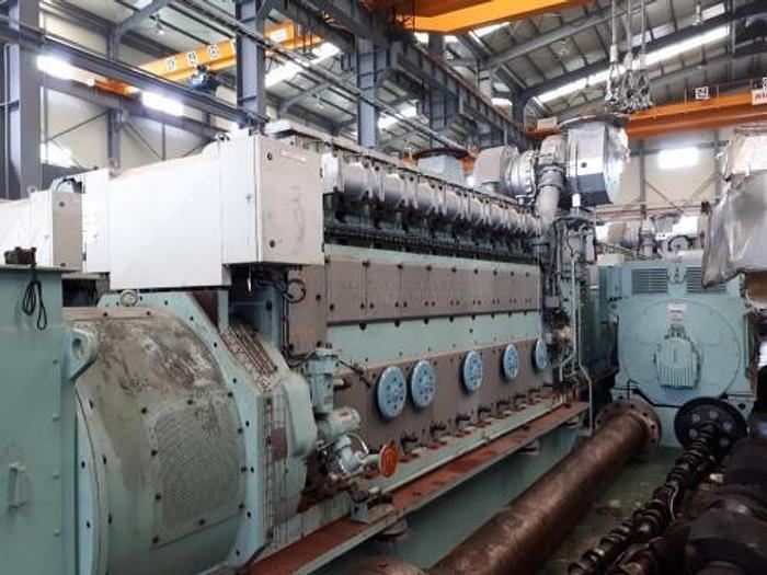 1.98 MW 2013 New MAN 9L21/31 HFO Generator Sets