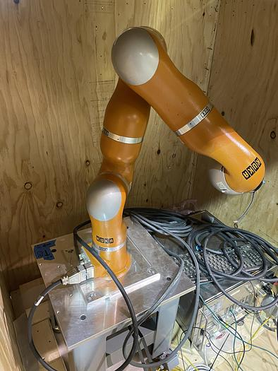 Used KUKA LBR IV 6 AXIS COLLABORATIVE ROBOT WITH LR-CONTROLLER
