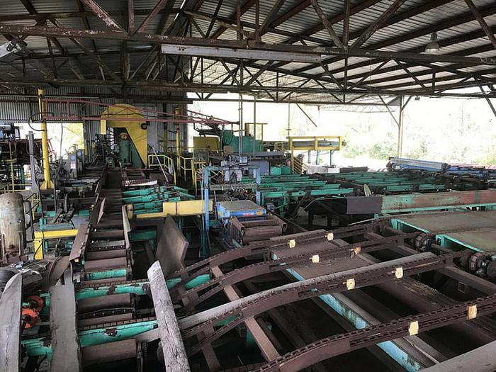 Used Complete Operation Sawmill