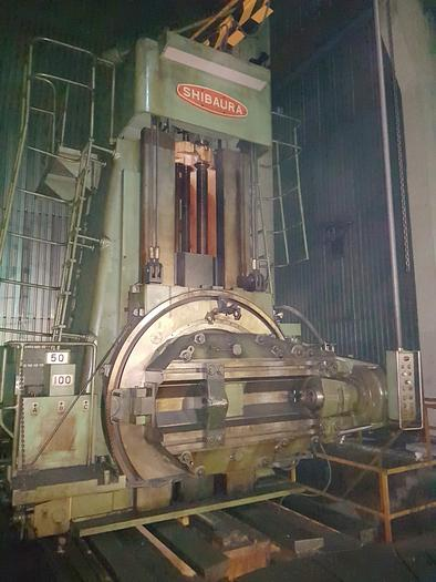 Gear hobbing machine SHIBAURA HHA600B(S)  6000mm dia. YOM 1977