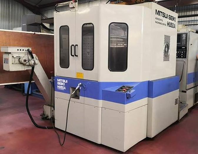 D'occasion Horizontal machining center Mitsui Seiki HU50A  / Centre d'usinage horizontal Mitsui Seiki HU50A