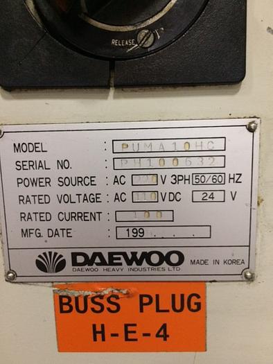 1996 Daewoo Puma 10HC