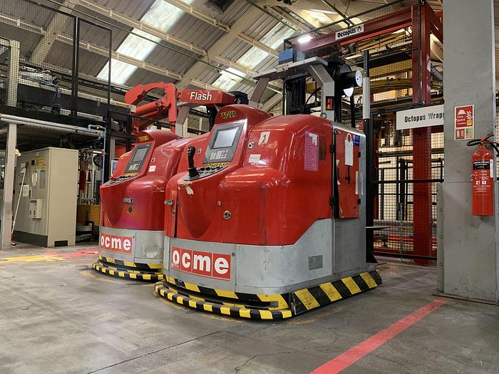 Used 2005 OCME AURIGA F1S Automated Guided Forklift