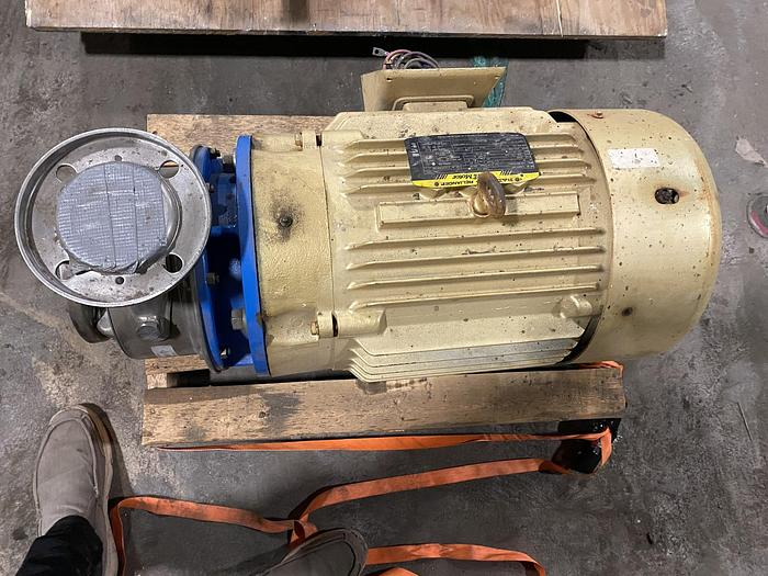 Used GOULDS WATER TECHNOLOGY G&L SERIES SSH 2.5 X 3 - 8 PUMP UNUSED SPARE