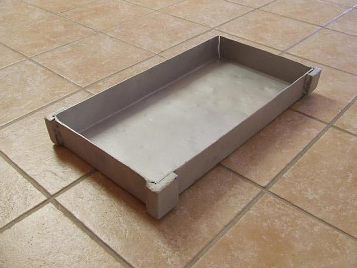 Używane Forma do bloków mrożonych z pełnym dnem - aluminiowa