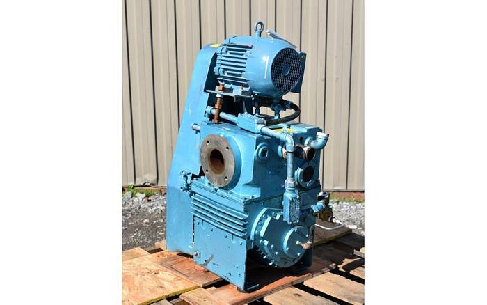 """USED VACUUM PUMP, 3"""" X 1.25"""" INLET & OUTLET, KINNEY, 60 CFM"""