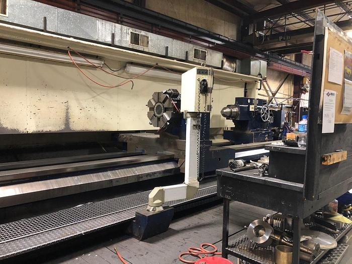"Karats LT-2-6000 Heavy Duty Lathe with 22"" Spindle Bore"