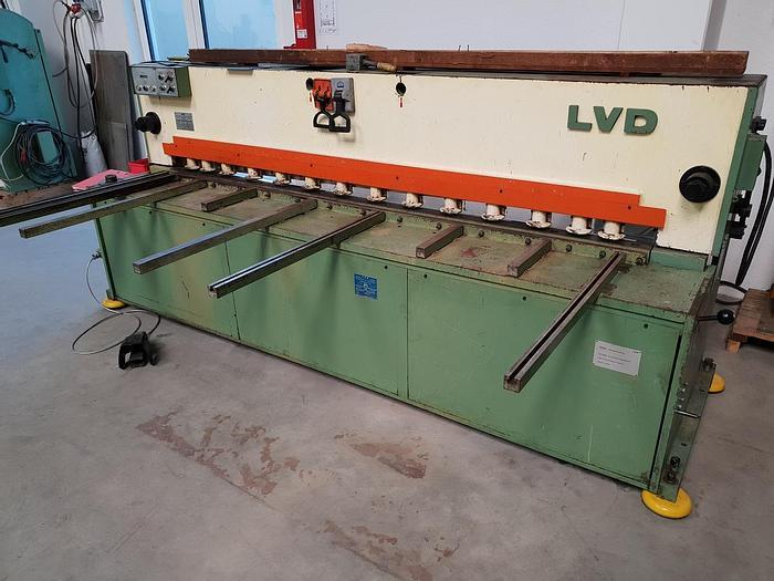 Gebraucht Hydraulische Tafelschere LVD MV 25 - 4
