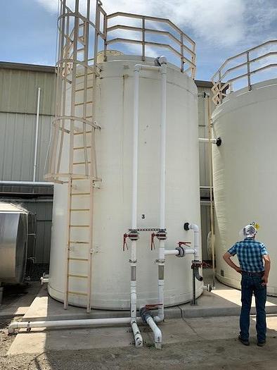 2003 DEI Systems 12,300 Gallon Fiberglass Storage Tanks