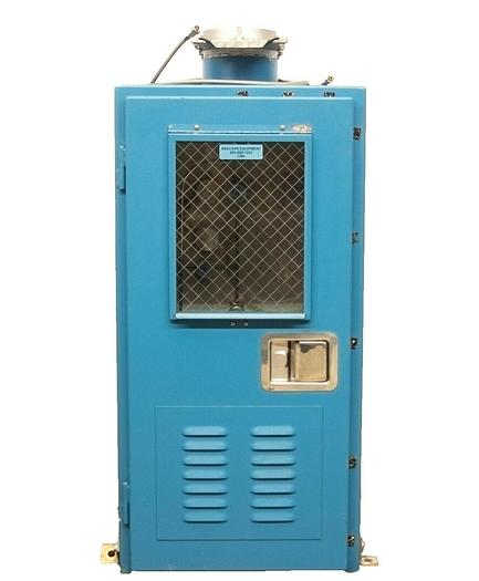 Used ASGE Safety Equipment 3100 Gas Safety Storage Cabinet for 1 Lecture Bottle (7366