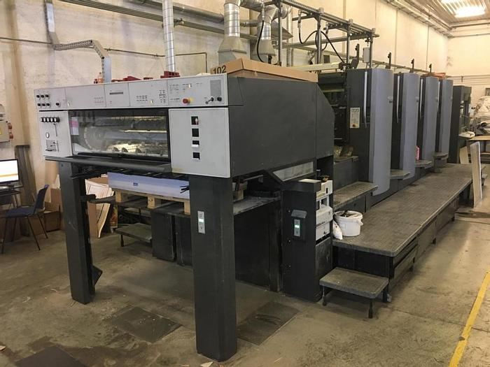 Used Heidelberg CD 102-4,  SOLD TO CHINA