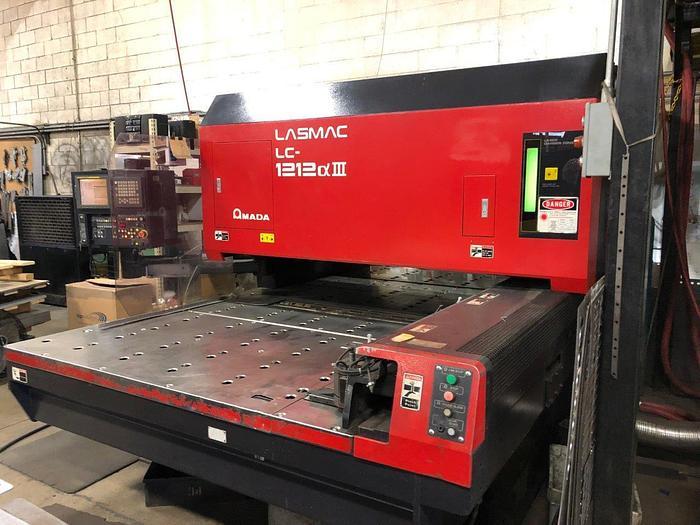 2001 2000 Watt Amada Pulsar 1212-III CNC Laser