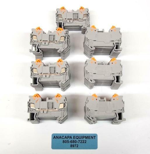 Phoenix Contact QTC1.5 3205019 DIN Rail Terminal Blocks LOT OF 65 NEW (8972)R