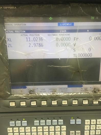 2012 OKUMA  2SP-150H CNC WITH GANTRY SYSTEM