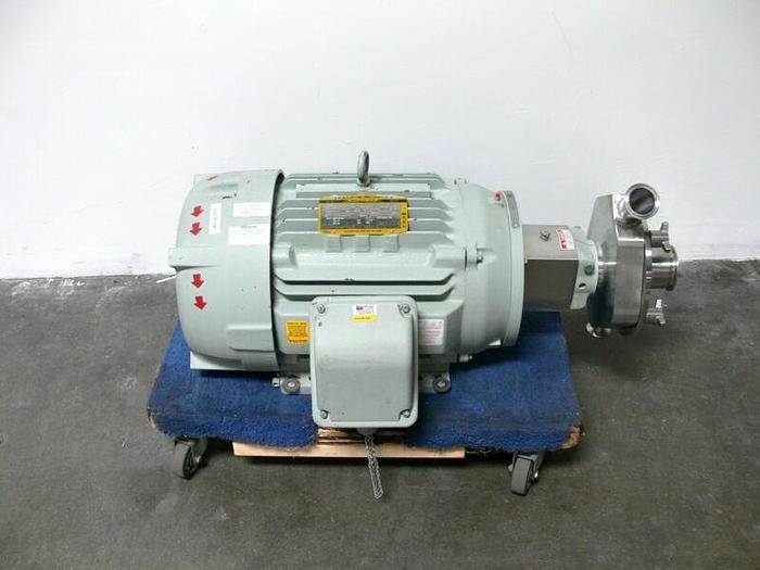 Used Fristam FPR1742-205 Centrifugal Pump w/ Baldor Super E 841XL 30 HP Motor
