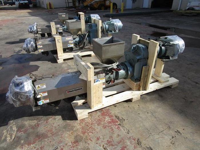 "Used 1 1/2"" Davis Standard Extruder 15 hp stock # 4756-44C"