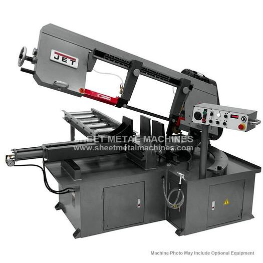 JET MBS-1323EVS-H Semi-Automatic Dual Mitering Bandsaw 3HP 460V 413415