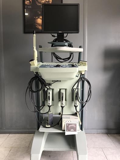Gebraucht BK Medical 2101 Falcon Ultraschallgerät mit 3 Sonden und Sony Drucker
