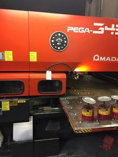 33 Ton Amada Pega 345 Queen CNC Turret Punch