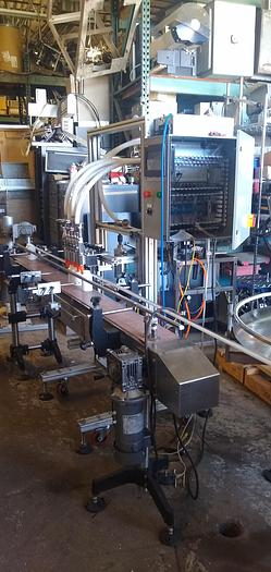 Filling Express 6 head pressure gravity filler