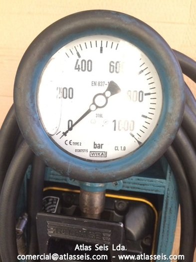 1000 bar Two Stage Hydraulic Hand Pump with hose