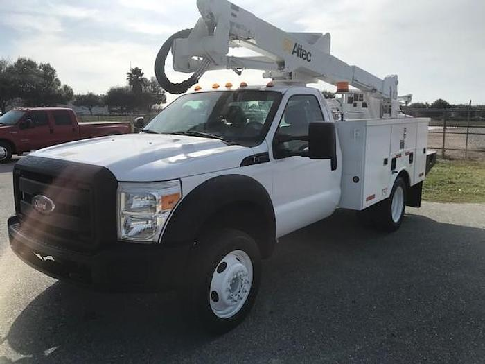 Used 2012 Ford F550 Altec AT37G 42ft Bucket Truck - C02038