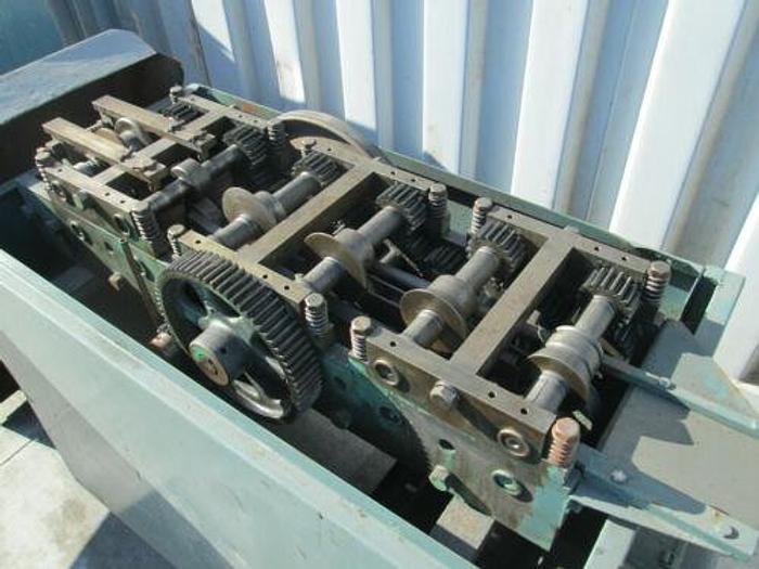 LOCKFORMER 20 GAUGE Center-Feed Form Machine Rollformer 3ph
