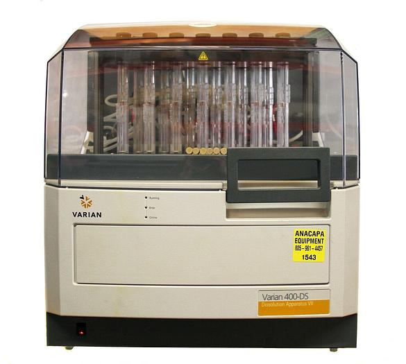 Used Varian Agilent 400DS Dissolution System Apparatus VII, 33-0506 (1543)