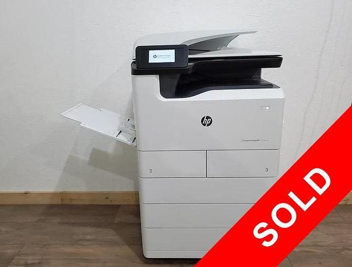 Used HP PageWide P77740 Full Color Inkjet Printer. Only 182K Meter!