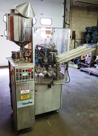 Used KLENZPAK MODEL 600 TUBE FILLER (SIMILAR TO KALIX KX-600)