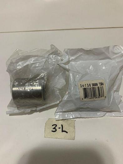"304SS 3/4""x3/8 3000lb.REDUC SOCKET WELD FITTING STAINLESS (LOT OF 2)"