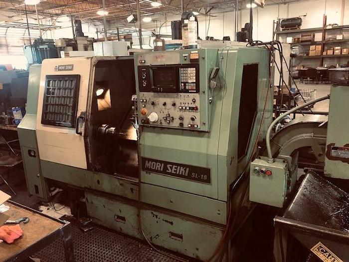 Used Mori Seiki SL-15 CNC Lathe