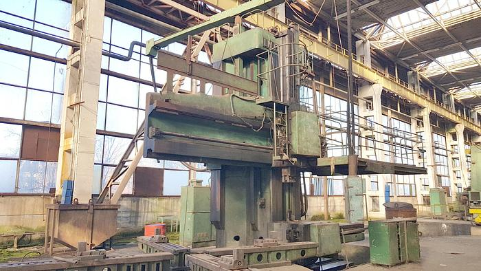 1985 Single Column Vertical Turning Lathe SCM100
