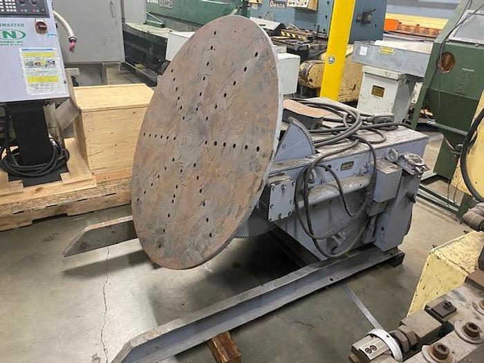 Used Aronson Model HD-30 Welding Positioner 3,000 lb. #5888