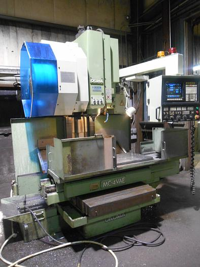 OKUMA MC4VA VERTICAL MACHINING CENTER WITH OSP5000M-G CONTROL