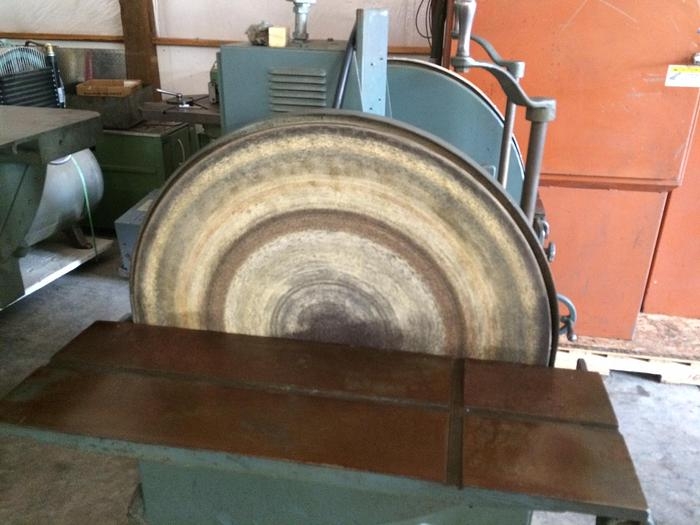 """Wysong & Miles 36"""" Double Disk Sander #1587"""