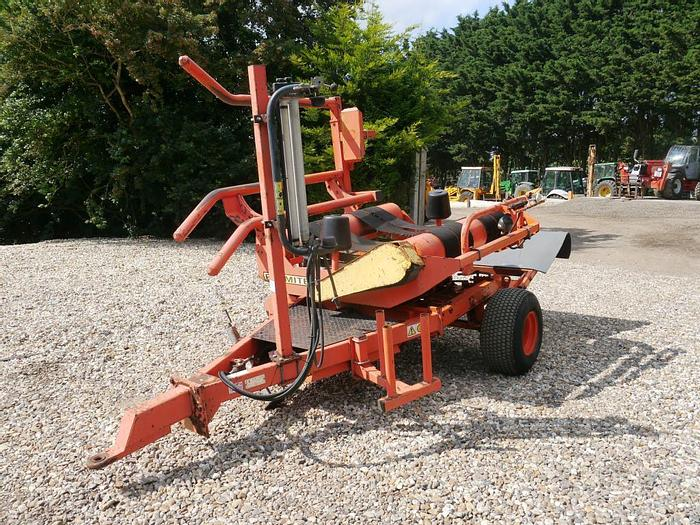 Used Parmiter TR96 Round Bale Wrapper