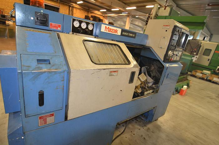 Used MS59 - Mazak Quick Turn 15 N
